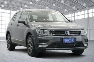 2017 Volkswagen Tiguan 5N MY17 132TSI DSG 4MOTION Comfortline Grey 7 Speed.