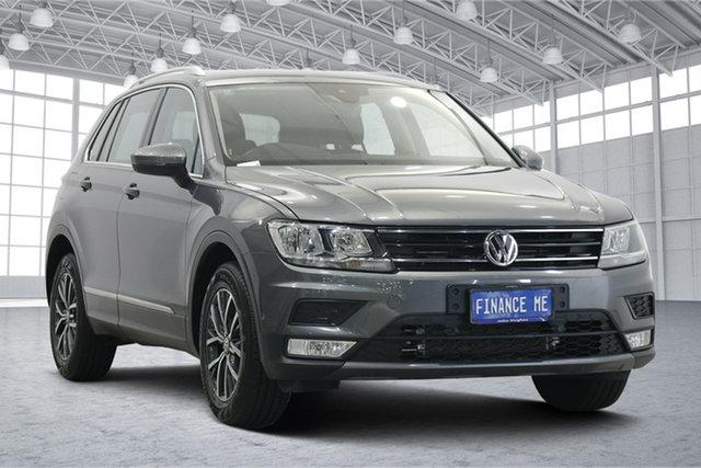 Used Volkswagen Tiguan 5N MY17 132TSI DSG 4MOTION Comfortline Victoria Park, 2017 Volkswagen Tiguan 5N MY17 132TSI DSG 4MOTION Comfortline Grey 7 Speed