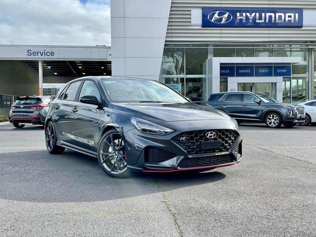 New Hyundai i30 Pde.v4 MY22 N D-CT Premium South Melbourne, 2021 Hyundai i30 Pde.v4 MY22 N D-CT Premium Dark Knight 8 Speed Sports Automatic Dual Clutch