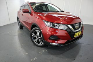 2017 Nissan Qashqai J11 Series 2 ST-L X-tronic Red 1 Speed Constant Variable Wagon.