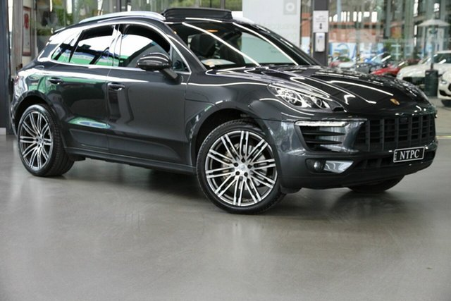 Used Porsche Macan 95B MY17 S PDK AWD North Melbourne, 2016 Porsche Macan 95B MY17 S PDK AWD Grey 7 Speed Sports Automatic Dual Clutch Wagon