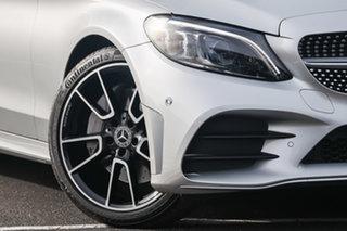2020 Mercedes-Benz C-Class W205 801MY C300 9G-Tronic Iridium Silver 9 Speed Sports Automatic Sedan