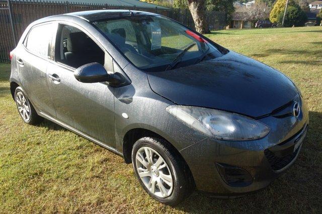 Used Mazda 2 DE10Y1 MY10 Neo East Maitland, 2011 Mazda 2 DE10Y1 MY10 Neo Grey 5 Speed Manual Hatchback