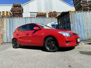2011 Hyundai i30 FD MY11 SX Red 5 Speed Manual Hatchback.