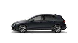 2021 Volkswagen Golf 8 110TSI R-Line Dolphin Grey 8 Speed Automatic Hatchback.
