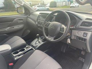 2015 Mitsubishi Triton MQ MY16 GLX (4x4) White 5 Speed Automatic Dual Cab Utility.
