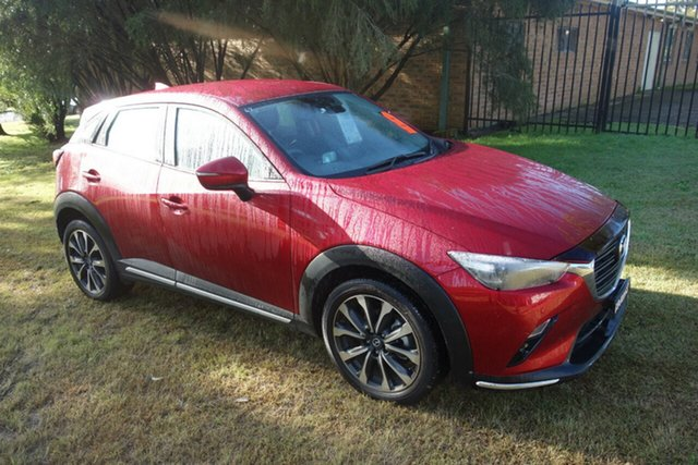 Used Mazda CX-3 DK2W7A sTouring SKYACTIV-Drive FWD East Maitland, 2019 Mazda CX-3 DK2W7A sTouring SKYACTIV-Drive FWD Red 6 Speed Sports Automatic Wagon