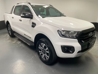 2019 Ford Ranger PX MkIII 2019.00MY Wildtrak Arctic White 10 Speed Sports Automatic.