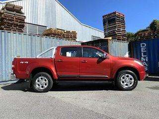 2013 Holden Colorado RG MY13 LTZ Crew Cab Red 5 Speed Manual Utility.