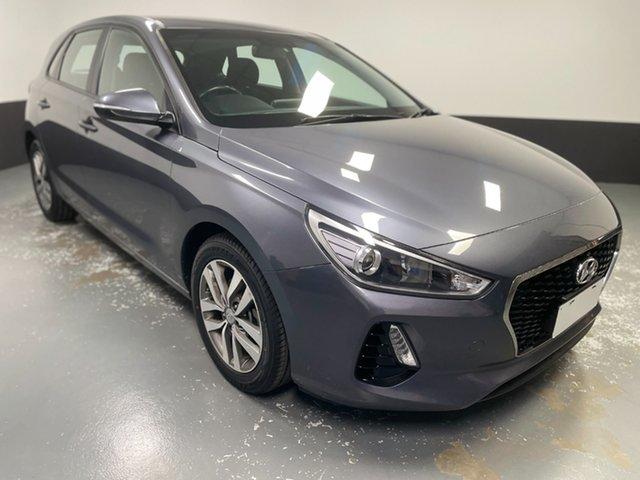 Used Hyundai i30 PD MY18 Active Cardiff, 2018 Hyundai i30 PD MY18 Active Grey 6 Speed Sports Automatic Hatchback