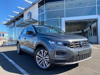 2021 Volkswagen T-ROC A1 MY21 110TSI Style Indium Grey 8 Speed Sports Automatic Wagon.