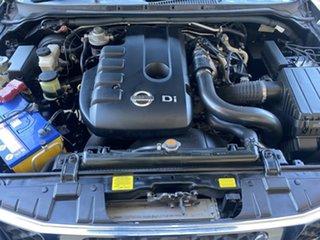 2011 Nissan Navara D40 RX Black 6 Speed Manual Utility