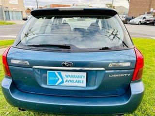 2006 Subaru Liberty MY06 2.0R Blue 4 Speed Auto Elec Sportshift Wagon