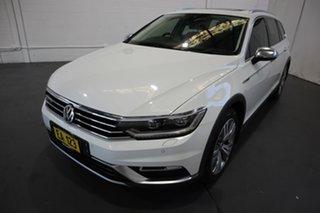 2016 Volkswagen Passat 3C (B8) MY16 140TDI DSG 4MOTION Alltrack White 6 Speed