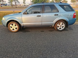2005 Ford Territory SX TS AWD Blue 4 Speed Sports Automatic Wagon