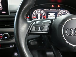 2017 Audi A5 F5 MY17 Sport S Tronic Quattro Grey 7 Speed Sports Automatic Dual Clutch Coupe