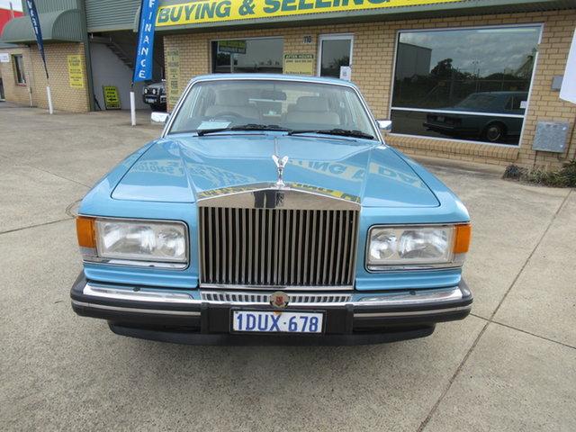 Used Rolls-Royce Silver Spirit II Mandurah, 1990 Rolls-Royce Silver Spirit II Blue 3 Speed Automatic Sedan