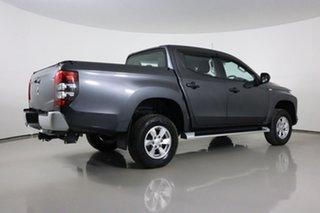 2019 Mitsubishi Triton MR MY19 GLX Plus (4x4) Grey 6 Speed Automatic Double Cab Pick Up