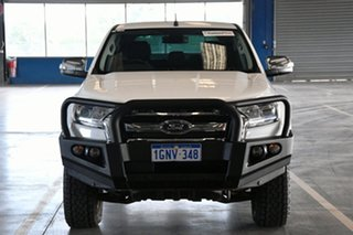 2018 Ford Ranger PX MkII 2018.00MY XLT Double Cab Cool White 6 Speed Sports Automatic Utility