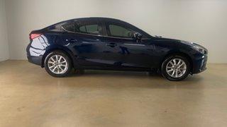 2014 Mazda 3 BM Maxx Blue 6 Speed Automatic Sedan.