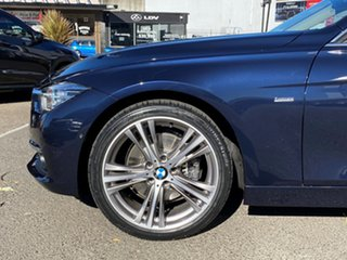 2017 BMW 330i F31 LCI Touring Sport Line Imperial Blue Brilliant Effect 8 Speed Automatic Wagon.