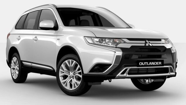 New Mitsubishi Outlander ZL MY21 ES 2WD Atherton, 2021 Mitsubishi Outlander ZL MY21 ES 2WD White 6 Speed Constant Variable Wagon