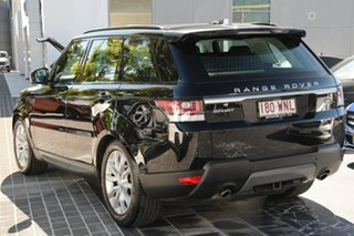 2016 Land Rover Range Rover Sport L494 16.5MY SE Santorini Black 8 Speed Sports Automatic Wagon.