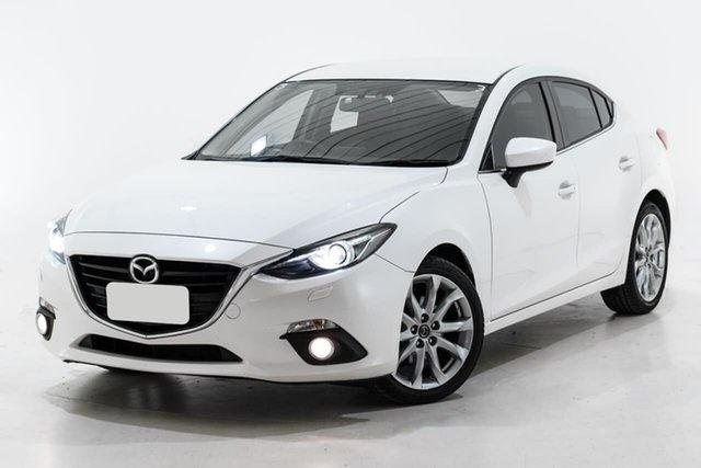 Used Mazda 3 BM5238 SP25 SKYACTIV-Drive Berwick, 2015 Mazda 3 BM5238 SP25 SKYACTIV-Drive Black 6 Speed Sports Automatic Sedan