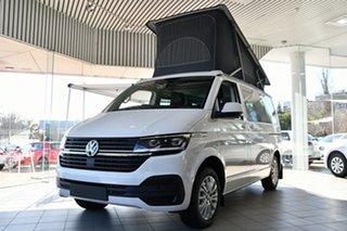 2021 Volkswagen California T6.1 MY21 Beach TDI450 SWB DSG 4MOTION Candy White 7 Speed.