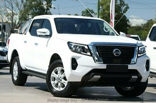 2021 Nissan Navara D23 MY21 ST (4x2) White Pearl 7 Speed Automated Manual Dual Cab Pick-up.