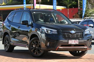 2021 Subaru Forester S5 MY21 2.5i Sport CVT AWD Crystal Black - Blac 7 Speed Constant Variable Wagon.