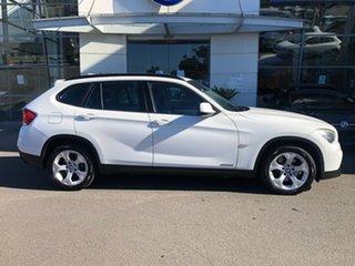 2010 BMW X1 E84 MY11 sDrive18i Steptronic White 6 Speed Sports Automatic Wagon.