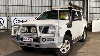 2009 Nissan Pathfinder R51 MY08 ST White 5 Speed Sports Automatic Wagon.