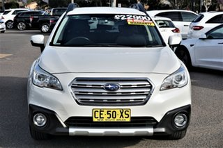 2015 Subaru Outback B6A MY15 2.5i CVT AWD White 6 Speed Constant Variable Wagon.