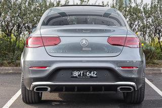 2020 Mercedes-Benz GLC-Class C253 800+050MY GLC300 Coupe 9G-Tronic 4MATIC Selenite Grey 9 Speed