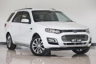 2016 Ford Territory SZ MkII Titanium Seq Sport Shift White 6 Speed Sports Automatic Wagon.