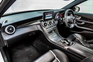 2015 Mercedes-Benz C-Class W205 806MY C63 AMG SPEEDSHIFT MCT S White 7 Speed Sports Automatic Sedan.