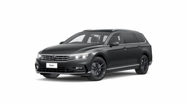 New Volkswagen Passat B8 206TSI R-Line Hamilton, 2021 Volkswagen Passat B8 206TSI R-Line Manganese Grey Metallic 6 Speed Semi Auto Wagon