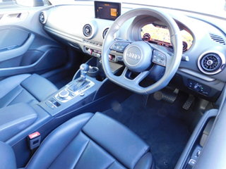 2017 Audi A3 8V MY17 S Tronic Cosmosbluelxe 7 Speed Sports Automatic Dual Clutch Sedan.