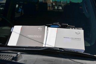 2010 Nissan Navara D40 ST (4x4) Blue 5 Speed Automatic Dual Cab Pick-up