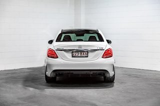 2015 Mercedes-Benz C-Class W205 806MY C63 AMG SPEEDSHIFT MCT S White 7 Speed Sports Automatic Sedan
