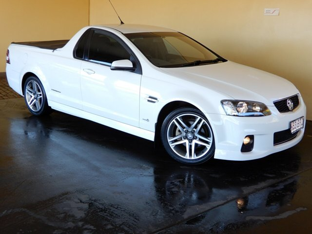 Used Holden Commodore VE II MY12 SV6 Thunder Toowoomba, 2012 Holden Commodore VE II MY12 SV6 Thunder White 6 Speed Automatic Utility