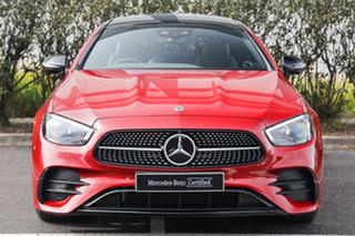 2020 Mercedes-Benz E-Class C238 801+051MY E300 9G-Tronic Designo Patagonia Red 9 Speed