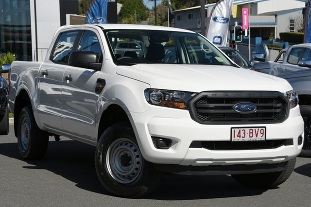 Demo Ford Ranger PX MkIII 2021.25MY XL Newstead, 2021 Ford Ranger PX MkIII 2021.25MY XL Arctic White 6 Speed Sports Automatic Double Cab Pick Up