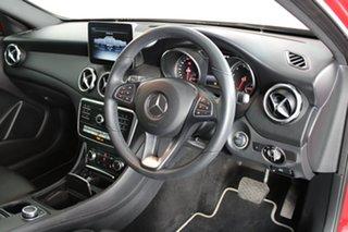 2018 Mercedes-Benz GLA-Class X156 808+058MY GLA180 DCT Red 7 Speed Sports Automatic Dual Clutch