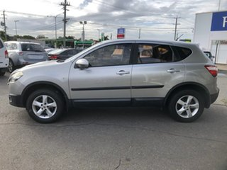 2010 Nissan Dualis J10 MY10 ST (4x2) Silver 6 Speed CVT Auto Sequential Wagon