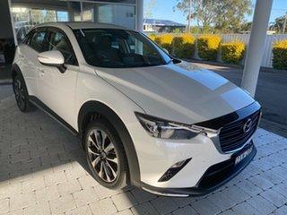 2018 Mazda CX-3 STOURING Snowflake White Pearl Sports Automatic Wagon