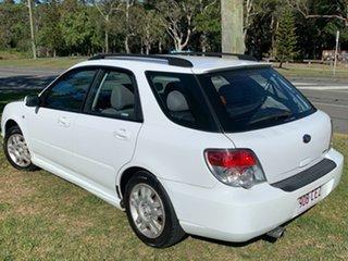 2006 Subaru Impreza S MY06 AWD White 4 Speed Automatic Hatchback.