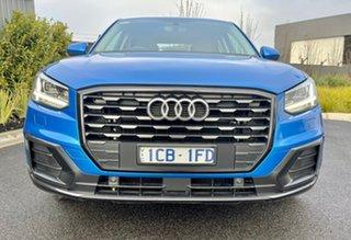 2019 Audi Q2 GA MY19 35 TFSI S Tronic design Blue 7 Speed Sports Automatic Dual Clutch Wagon.