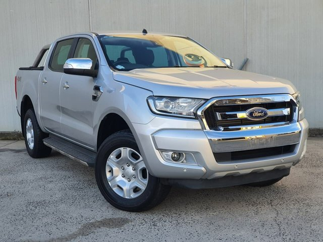 Used Ford Ranger PX MkII XLT Double Cab Oakleigh, 2017 Ford Ranger PX MkII XLT Double Cab Silver 6 Speed Sports Automatic Utility